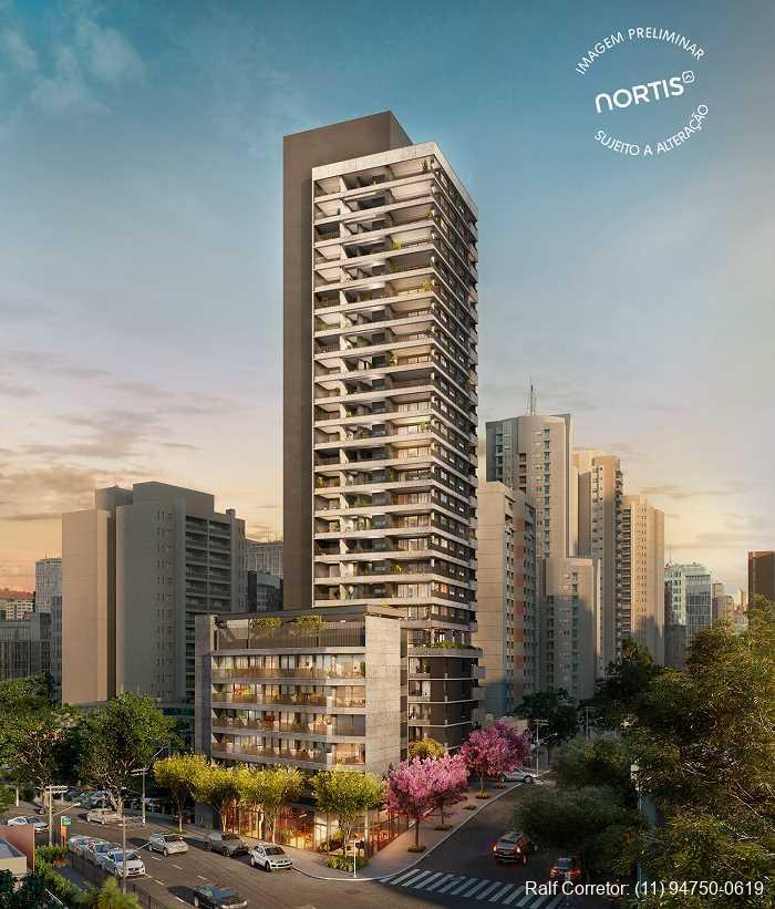 Esquina Pinheiros Construtora Nortis Apartamentos na planta